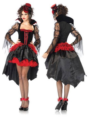Midnight Mistress Bk Rd Md Adult Womens Costume