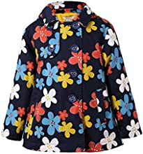Richie House Little Girls39 Flower Jacket with Fleece Lining Rh2204 Size 4-12y