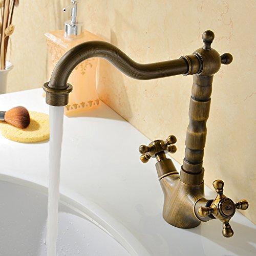 Vapsint® Centerset Single Handle Antique Brass Bathroom Vanity Sink Lavatory Faucet