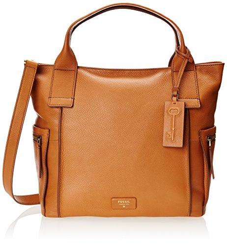 Fossil Emerson Top Handle Bag, Camel, One Size
