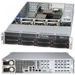 SUPERMICRO SuperChassis 825TQ-R740WB (Black) Rack-mountable - Black - 2U - 10 x Bay - 3 x Fan(s) Installed - 2 x 740 W - EATX Motherboard Supported / CSE-825TQ-R740WB /