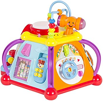 Baby Toy Musical Activity Cube Play Center