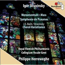 Symphony of Psalms: I. Exaudi orationem meam, Domine