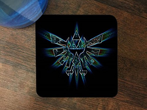 Triforce Silicone Drink Beverage Coaster 4 Pack by Demon Decal