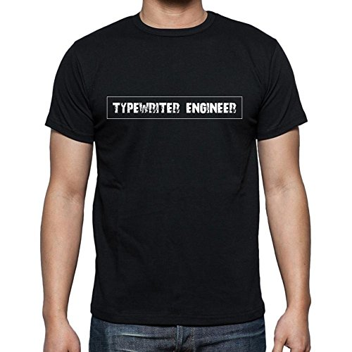 Typewriter Engineer t shirt, mens