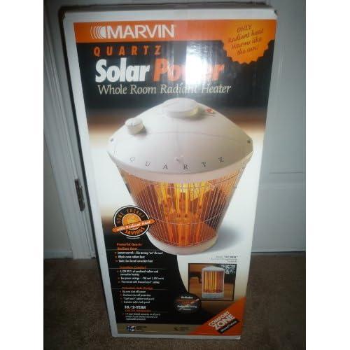Amazon.com - Marvin Quartz Solar Power Whole Room Radiant