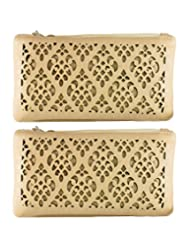Fleurette Wallet | Sling ( Combo Of 2 Slings ) By Heels & Handles (N1247)