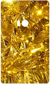 Golden Shinning Ornaments Back Cover Case for Nokia Lumia 920