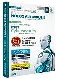 ESET NOD32アンチウイルス V5.2 Windows/Mac対応 5PC更新