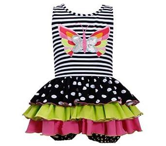 Bonnie Jean Girls 2-6X Stripe To Multi Skirt (12 months)