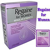 New Regaine For Women Treats Thinning & Regular Strength Hereditary Hair Loss Treatment 60ml