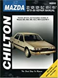 Richard Schwartz Mazda 323, 626, 929, RX7 (Including Montrose and 2000) (1978-89) (Chilton Total Car Care Automotive Repair Manuals)