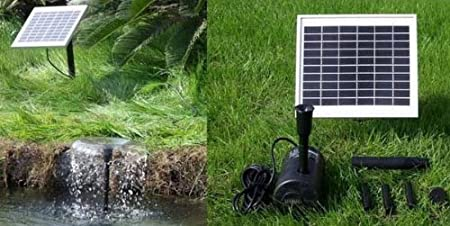 WelcomeiHome .INC 5 Watt Solar Powered Water Fountain Pump  Welcome iHome Outdoor at Sears.com