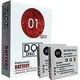 2x DOT-01 1400mAh Replacement Canon NB-4L Batteries for Canon Powershot ELPH 330 310 100 300 SD1000 SD1100 SD1400 SD750 SD780 SD940 SD960 SD630 SD600 SD450 TX1 SD400 SD430 VIXIA MINI and Canon NB4L