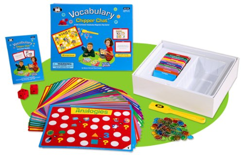 Vocabulary Chipper Chat Magnetic Game Super Duper Educational Learning Toy for Kids