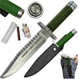 Rambo First Blood Hand Forge Survival Knife