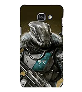 printtech Game Hero Warrior Back Case Cover for Samsung Galaxy A5 (2016) :: Samsung Galaxy A5 (2016) Duos with dual-SIM card slots