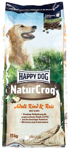 Happy Dog NaturCroq Rind & Reis,