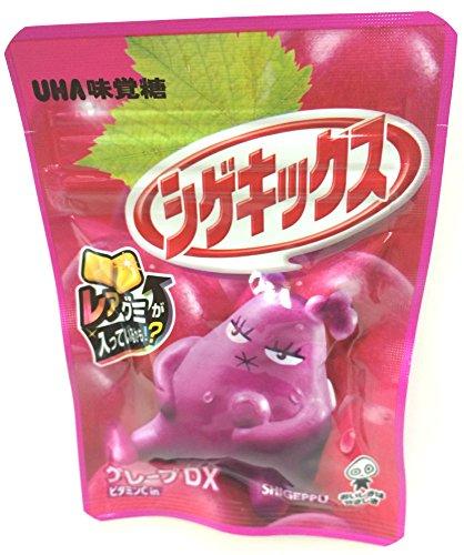 味覚糖 シゲキックス グレープDX 20g×10袋