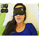 Best Sleep Mask with FREE set of Noise Reduce Ear Plugs. This Sleeping Mask suitable for Women, Men, Boys, Girls and Kids.