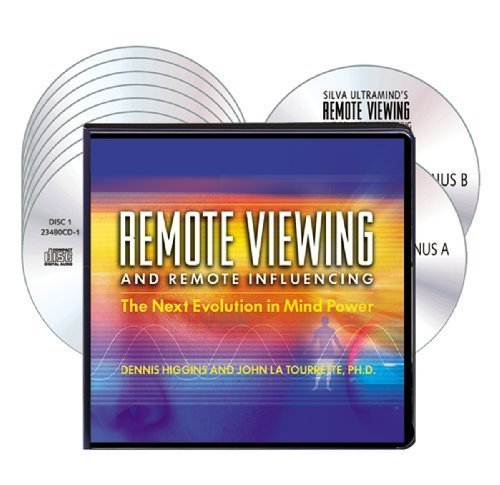 Silva Ultramind's Remote Viewing and Remote Influencing (8 Compact Discs/2 Bonus Discs/PDF Workbook) (Remote Influencing compare prices)