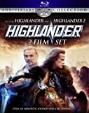 Highlander 2-Film Set (Highlander / Highlander 2) (Anniversary Collection) Blu-Ray
