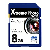 NEW 8GB SD SDHC MEMORY CARD FOR FujiFilm FinePix JV100 CAMERA