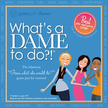 What's a DAME to do?! Game