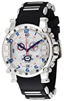 Brillier Men's 02.4.4.4.11.01 Grand Master Tourer Signature White Dial Black Rubber Watch from Brillier