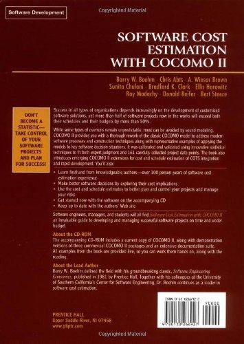 Software Cost Estimation with Cocomo II