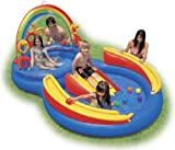 Pool Slides:Inflatable Intex range Ring perform Center drinking water Slide