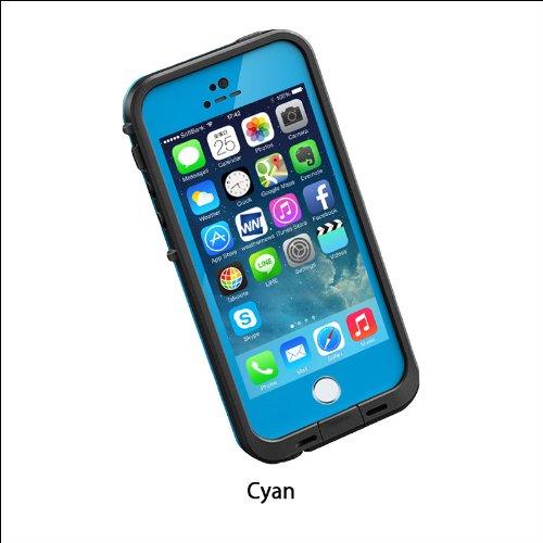 日本正規代理店品・保証付LIFEPROOF 防水防塵耐衝撃ケース LifeProof fre iPhone5/5s Cyan シアン 2101-04