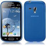 Coque Ultra Fine en Gel Flex TPU pour Samsung Galaxy TREND - Collection Transparent - Bleu par PrimaCase