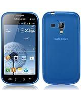 Coque Ultra Fine pour Samsung Galaxy Trend S7560 en Transparent Bleu par PrimaCase