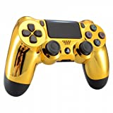 Chrome Gold Playstation 4 PS4 Dual Shock 4 Wireless Custom Controller (Color: Chrome Gold)