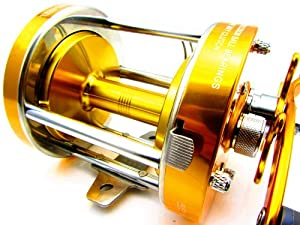 2 S.s BB Round Baitcasting Fishing Reel Heavy Duty 80 Series Net Weight 600g. by M