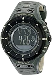 "Timex Men's T49612 ""Expedition Trail Series"" Black and Green Watch"