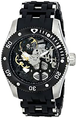 Invicta Men's 10352 Sea Spider Analog Display Mechanical Hand Wind Black Watch