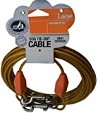 Pet Champion Large Tie Out Cable for Dogs Up to 90-Pound