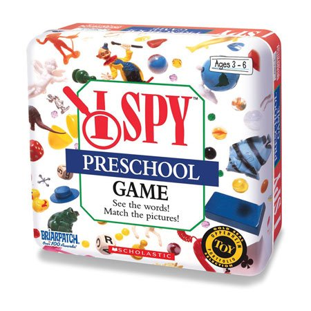 I Spy Preschool Game Tin