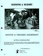 Dungeons & Dragons, Monster & Treasure…