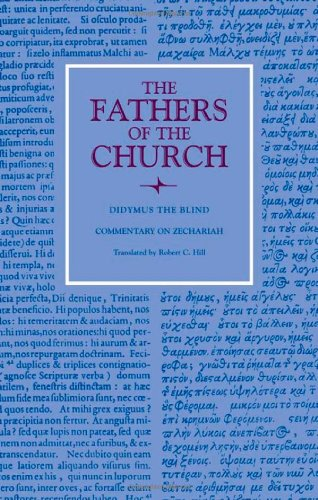 Didymus the Blind: Commentary on Zechariah (Fathers of the Church) PDF