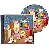 Personalisierte SCHLAFLIED CD gesungen mit dem Namen IHRES Kindes / Wunschname (Zur Taufe, Taufgeschenk, Geburtsgeschenk ...) wirkungsvoller als ein MUSIK MOBILE / Jeder NAME ist möglich ! Spezialanfertigung für Kunde - Inkl. GRATIS A4 Geburtsbild mit allen Geburtsdaten / Das Schlaflied der Schlaflieder !