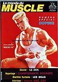 MONDE DU MUSCLE (LE) [No 60] du 01/07/1986 - DOPING - DOLPH LUNDGREN - LE DOS - CHAMPIONNATS D'EUROPE - LES BRAS - YVONNE MAC COY....