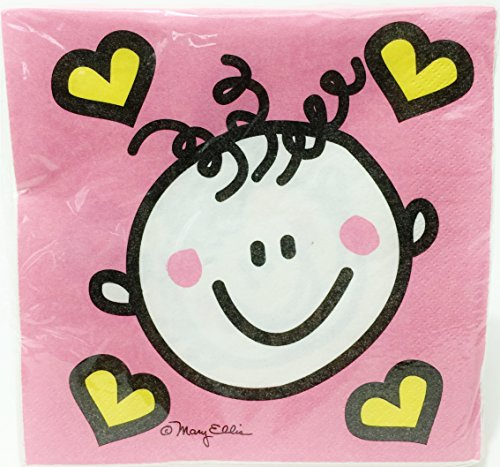 Special Girl Baby Shower - Large Napkins (Pack of 32) - 1