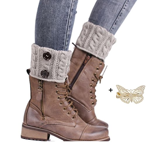 malloomr-tejer-calcetines-calentadores-de-la-pierna-cubierta-de-arranque-calcetines-calientes-gris
