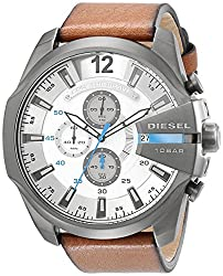 Diesel End-of-Season Analog White Dial Mens Watch DZ4280