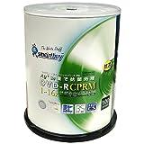 SMARTBUY DVD-R CPRM対応 4.7GB 1回録画用 インクジェットプリンタワイドな印刷対応 1-16倍速 抗菌仕様 スピンドルケース100枚入り SBC16X100PW