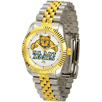 "North Carolina A&T State Aggies NCAA ""Executive"" Mens Watch"