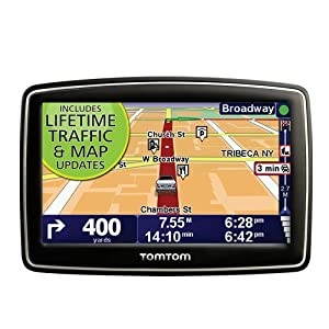 TomTom XL 340TM 4.3-Inch Portable GPS Navigator (Lifetime Traffic &#038; Maps Edition)